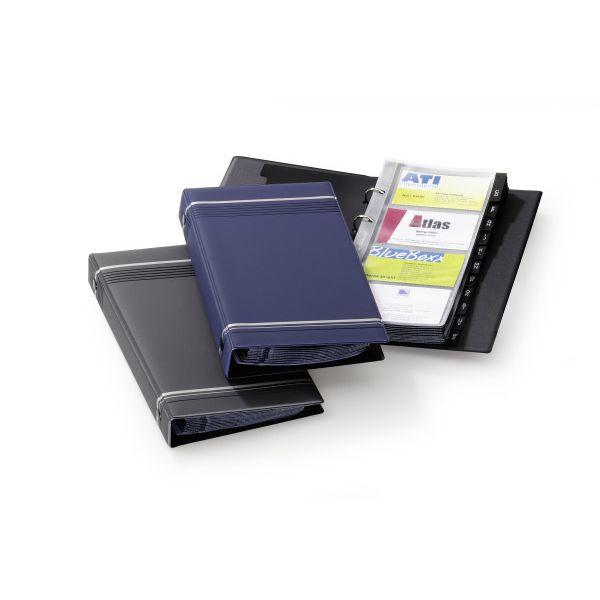 Durable 2385 Visifix Business Card Album 200 Cards A5 - Black (pc)