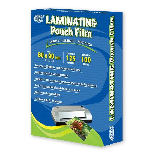 FIS FSLM60X90N Laminating Pouch Film 125-microns - 60 x 90mm (pkt/100s)