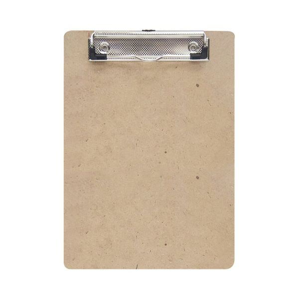 FIS FSCBWOODWCA4 Wooden Clip Board (Wire Clip) - A4 (pc)