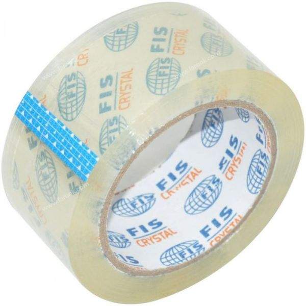 FIS Packing Tape 2in x 100yds - Clear (box/36pcs)