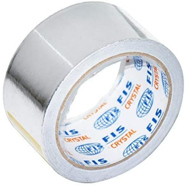 FIS Aluminium Foil Tape 2in x 20yrds - FSTA2X20AL (pc)