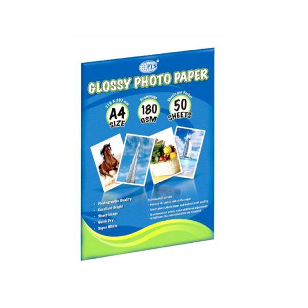 FIS Glossy Photo Paper A4 180gsm FSPAGP18050 - White (pkt/50pcs)