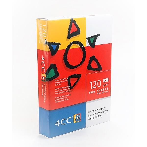 4CC Color Laser Copy Paper A3 120gsm - White (ream/500s)