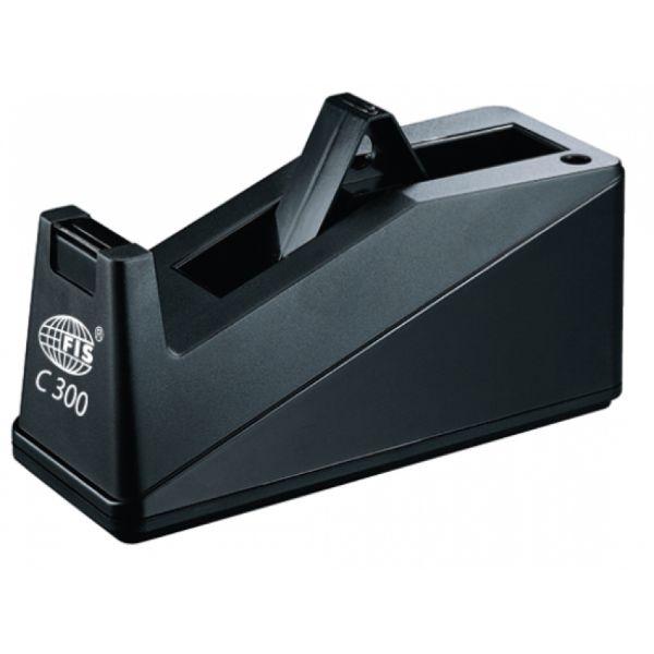 FIS C300 Large Tape Dispenser - Black (pc)