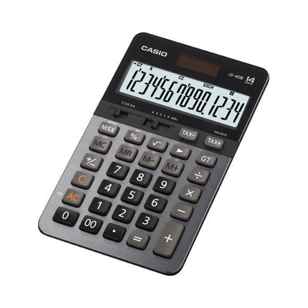 Casio JS-40B 14-Digit Heavy Duty Calculator
