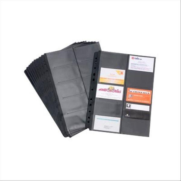 Tecnostyl BT611 Envelopes of Business Cards Holder Spare Black Tie (pkt/10pcs)