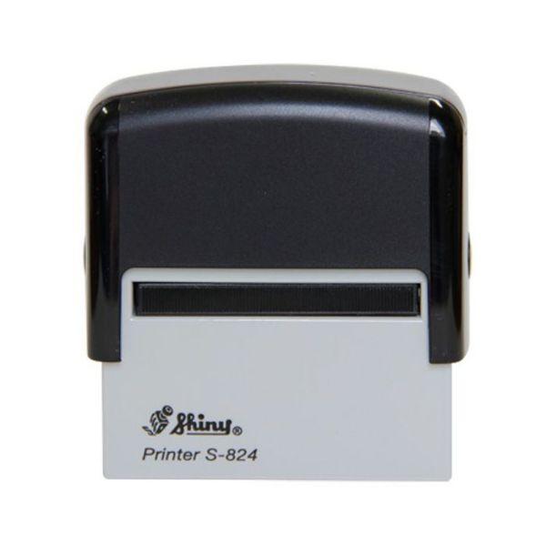 Shiny S-824 Self-Inking Stamp 52 x 20mm - Black (pc)