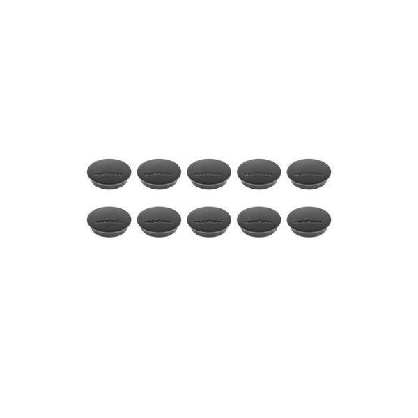 Magnetoplan COP 1662112 Magnetic Discofix Junior - Black (pkt/10pcs)