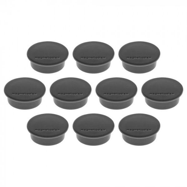 Magnetoplan COP 1662012 Magnetic Discofix - Black (pkt/10pcs)