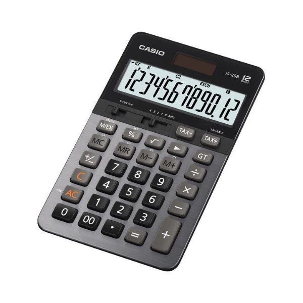 Casio JS-20B 12 Digit Heavy Duty Calculator