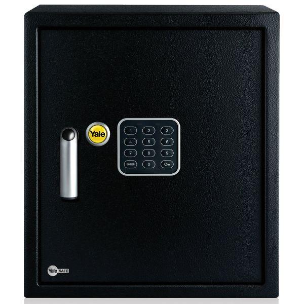 Yale YSV/390/DB1 Digital Keypad Alarmed Large Value Safe 40 Liters - Black