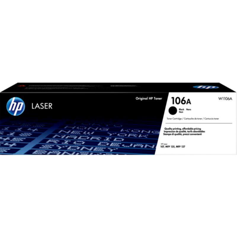 HP 106A (W1106A) Toner Cartridge for HP Laser 107 MFP135 MFP137 - Black