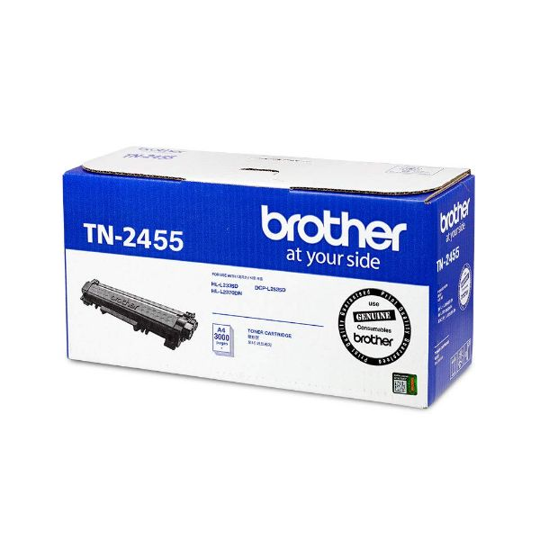 Brother TN-2455 High Yield Toner Cartridge - Black