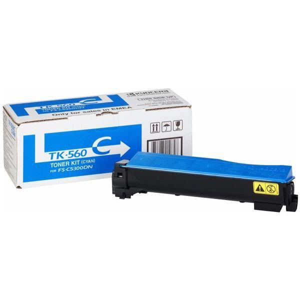 Kyocera TK-560C Toner Cartridge - Cyan