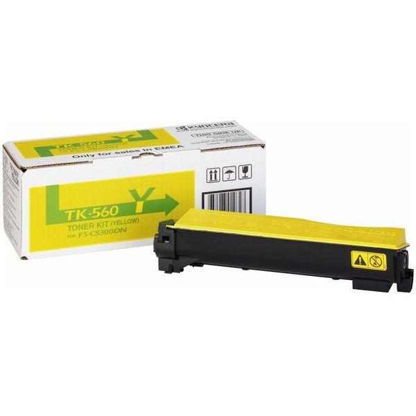 Kyocera TK-560Y Toner Cartridge - Yellow