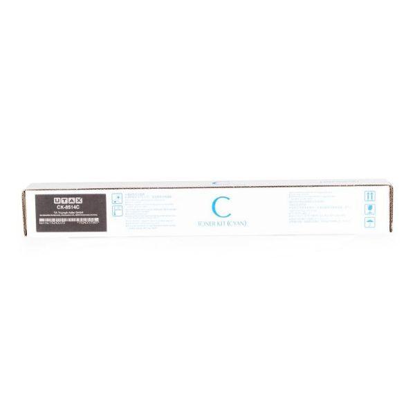 UTAX CK-8514C Toner Cartridge for 5006 Ci/ 5007 Ci/ 6006 Ci Printer - Cyan