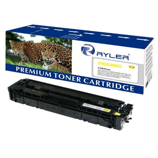 Ryler 201A Compatible Toner Cartridge CF402A - Yellow