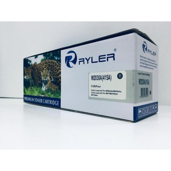 Ryler 415A (W2030A) Compatible Toner Without Chip - Black