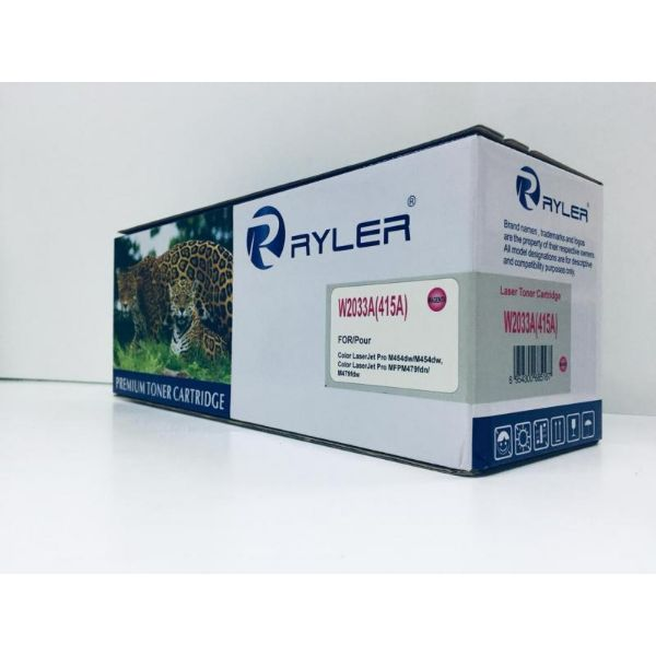 Ryler 415A (W2033A) Compatible Toner Without Chip - Magenta