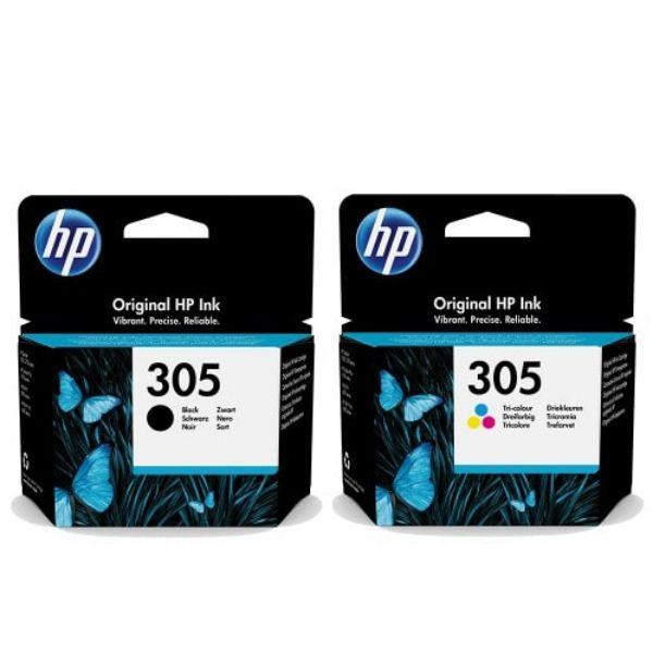 HP 305 Original Ink Cartridge Black & Tri-Color