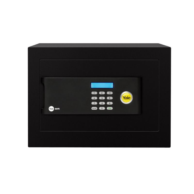 Yale YSB/250/EB1 Motorised High Security Home Safe 20.5 Liters - Black
