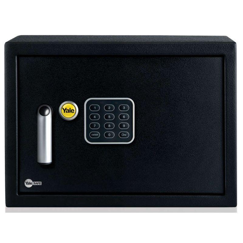 Yale YSV/250/DB1 Alarmed Value Safe Medium 16.3 Liters - Black