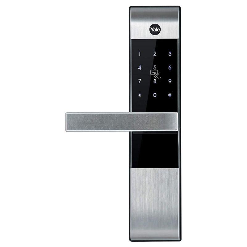 Yale YDM3109A Digital Smart Door Lock - Silver/Black