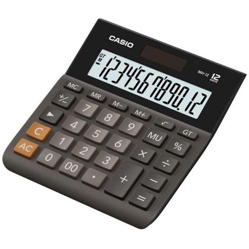 Casio MH-12 12-Digit Calculator