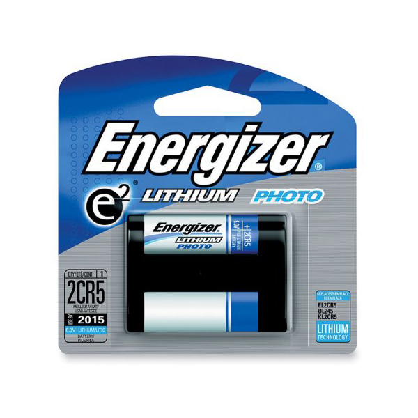 Energizer 2CR5 6V Lithium Battery (pc)