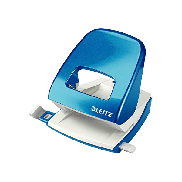 Leitz 5008 30 Sheets Hole Puncher 30-sheets capacity - Blue (pc)