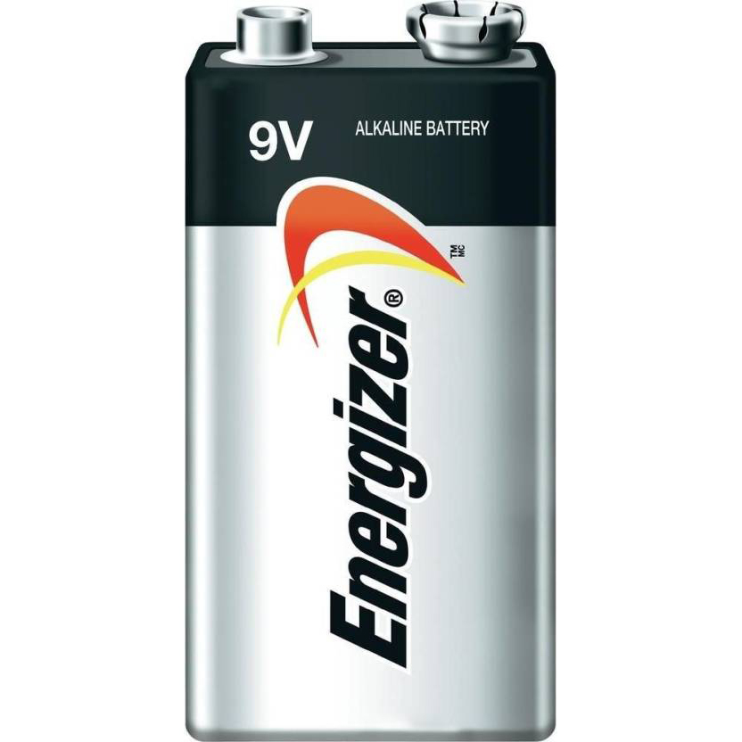 Energizer Max 522BP1 '9V' Alkaline Battery (pc)