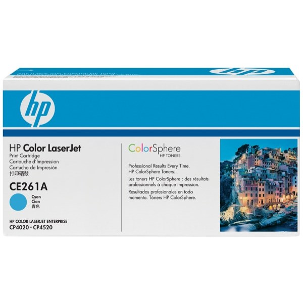 HP 647A Cyan Laser Toner Cartridge