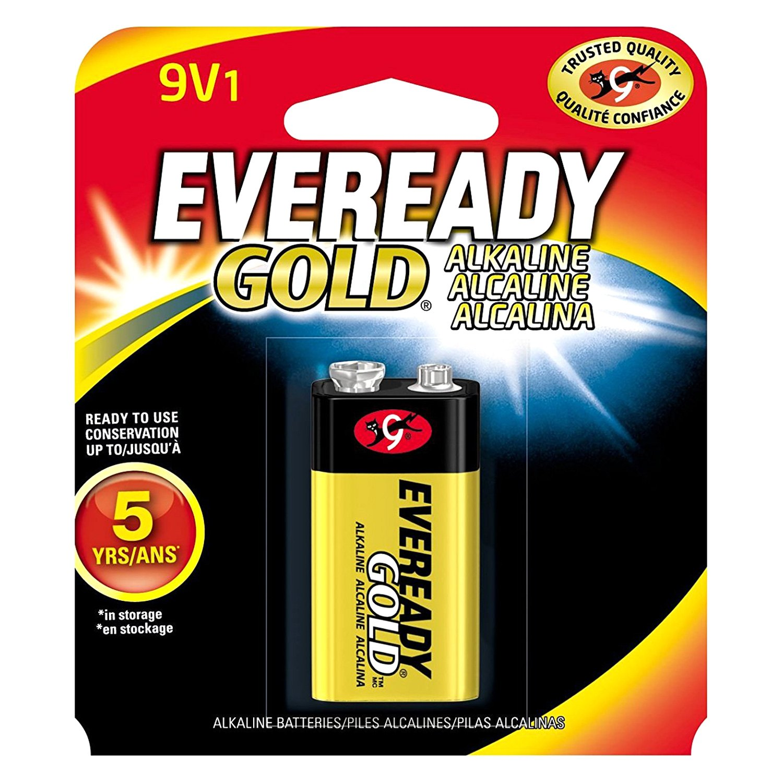 Eveready Gold A522 9V Alkaline Battery (pc)