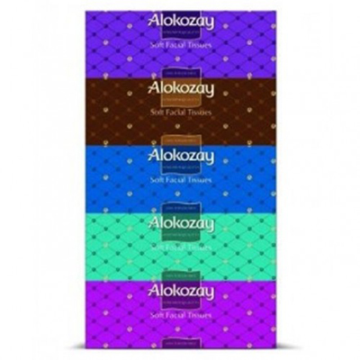 Alokozay Facial Tissue 150ply (Pkt/5pc)