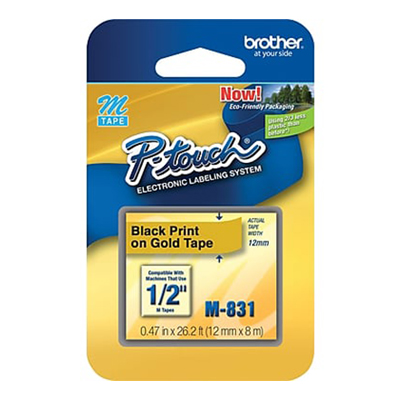Brother tape M-831 - 12.5mm