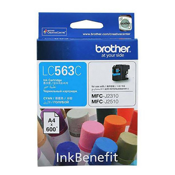 Brother Ink LC563 Cyan