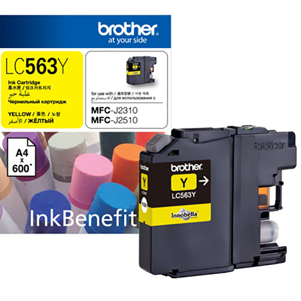Brother Ink LC563 Yellow