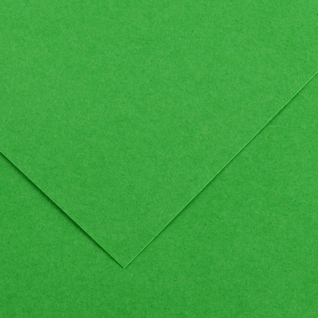 Canson Colorline Grainy Paper - Bright Green (pkt/25sheets)