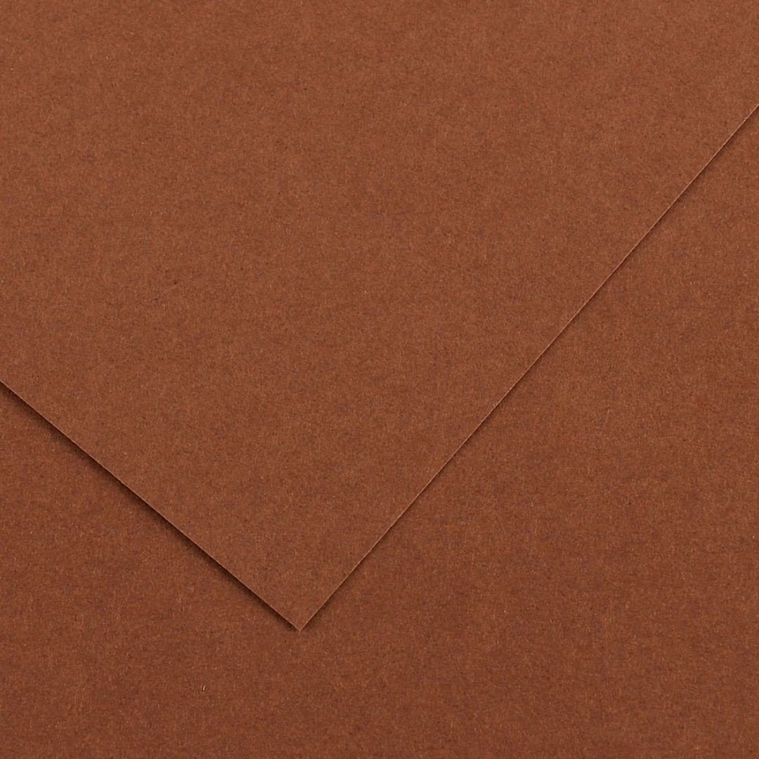 Canson Colorline Grainy Paper - Chocolate (pkt/25sheets)