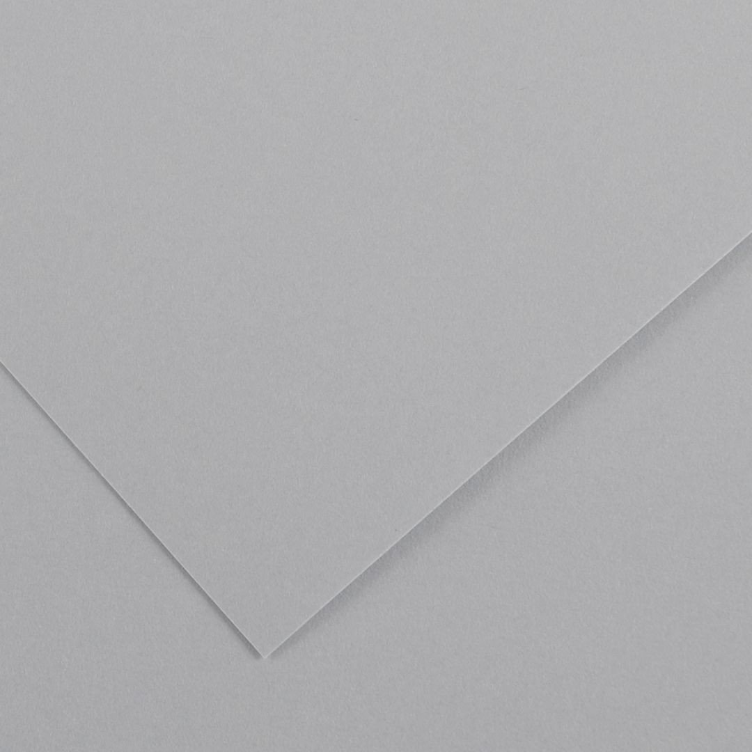Canson Colorline Grainy Paper - Light Grey (pkt/25sheets)