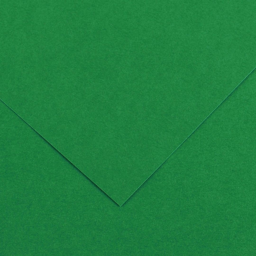 Canson Colorline Grainy Paper - Moss Green (pkt/25sheets)
