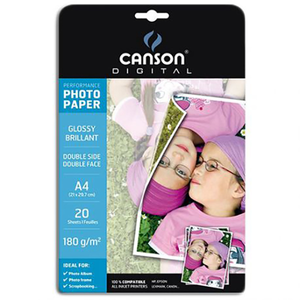 Canson Double-Sided Glossy Photo Paper (Performance Range)