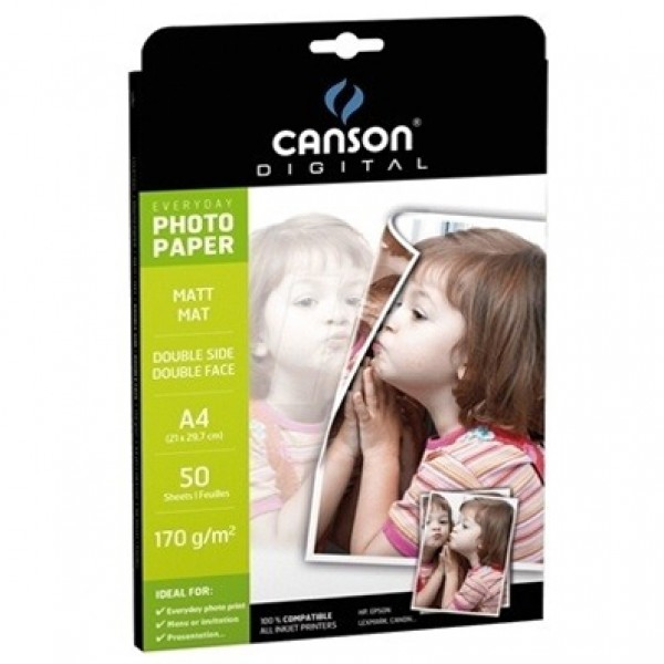 Canson Double-Sided Matte Photo Paper (Everyday Range)