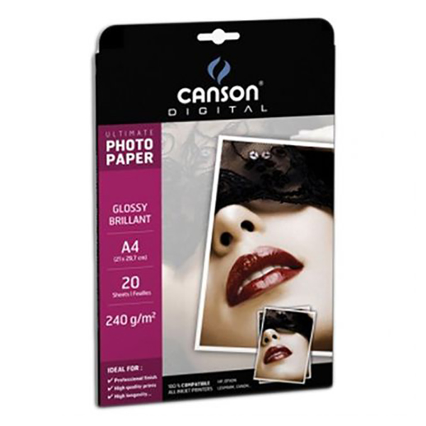 Canson Glossy Photo Paper (Ultimate Range)