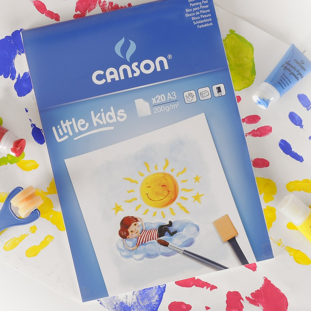 Canson Painting Paper Pads For Little Kids - A3 (pkt/20s)