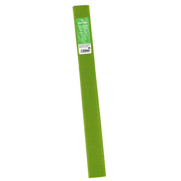 Canson Standard Crepe Paper - Light Green (pc)