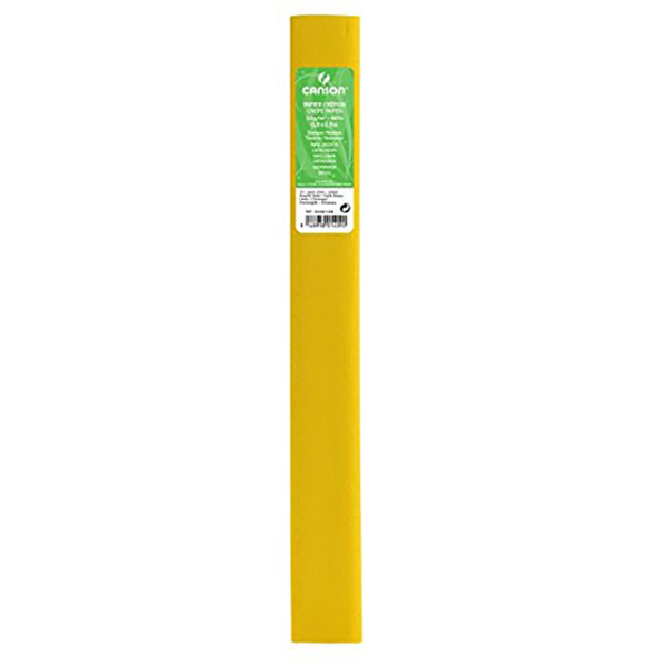 Canson Standard Crepe Paper - Yellow (pc)