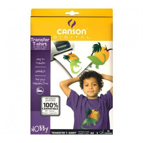Canson T-Shirt Transfer Film (White)