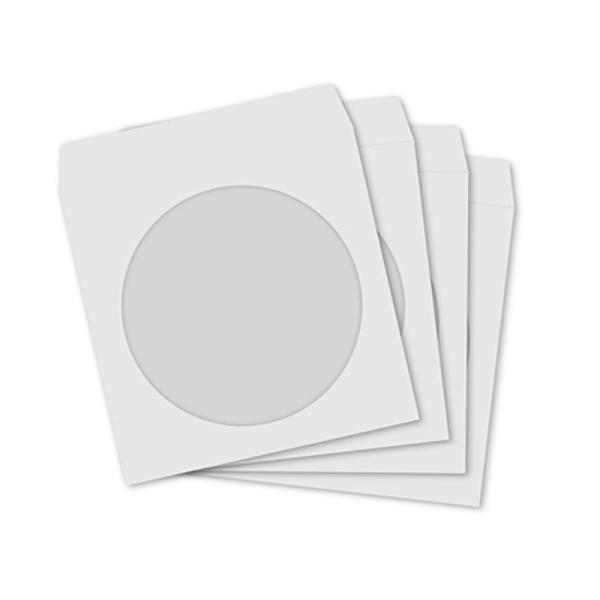 Sleeves White (Pkt/50pc)