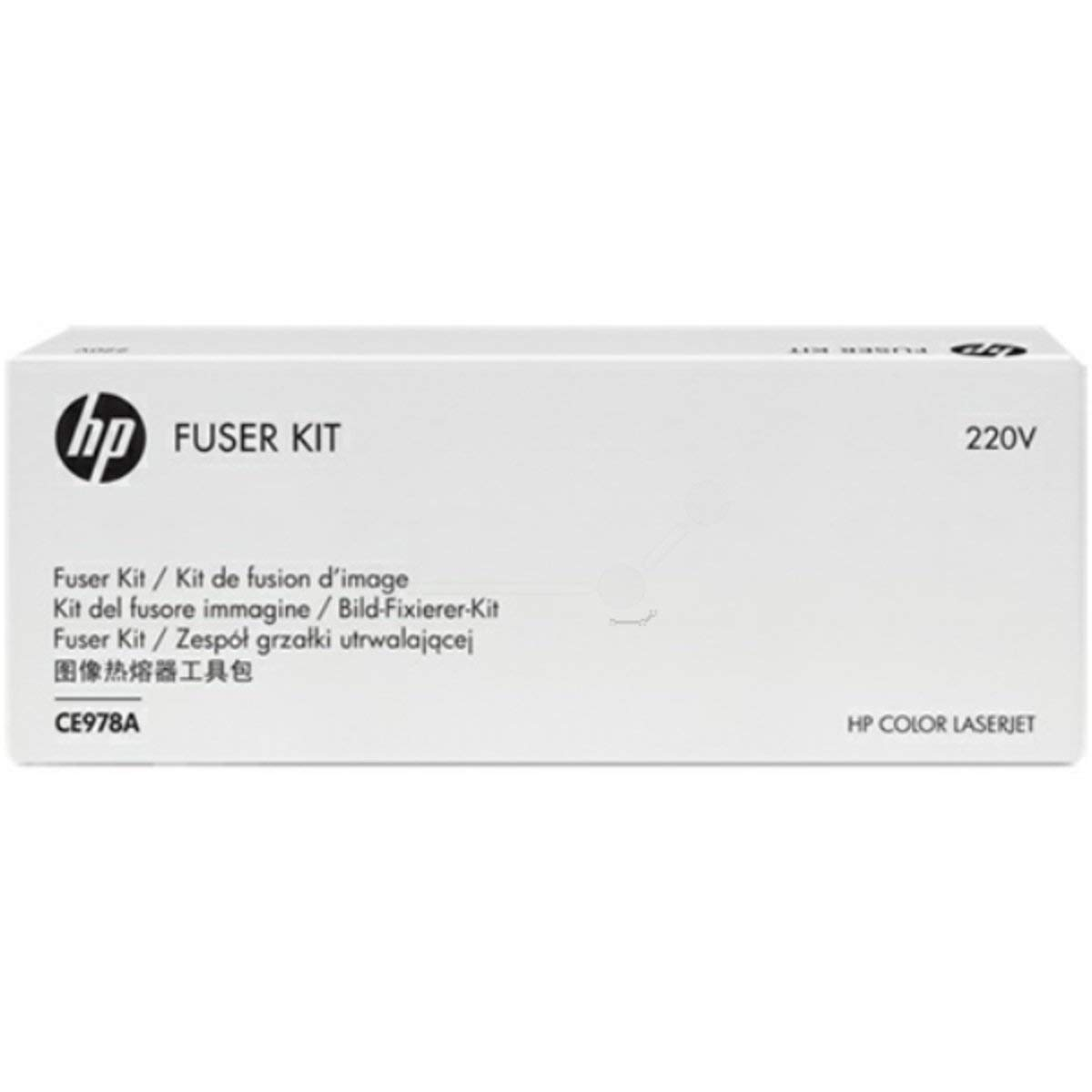 HP Color LaserJet CE978A 220V Fuser Kit